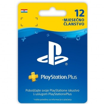 PlayStation Plus Card 365...