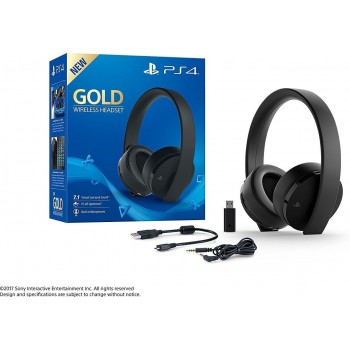 PS4 Wireless Gold Headset...