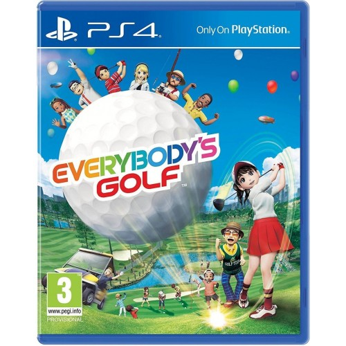 Everybody's Golf 7 PS4