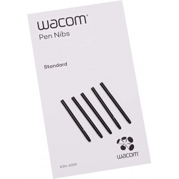 Wacom Pen Nibs Black 5 pack I4