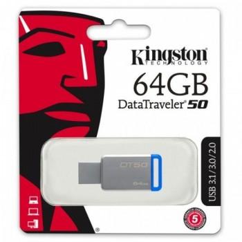 Kingston DT50 MEM UFD 64GB