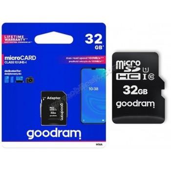 GOODRAM 32gb MICRO CARD...