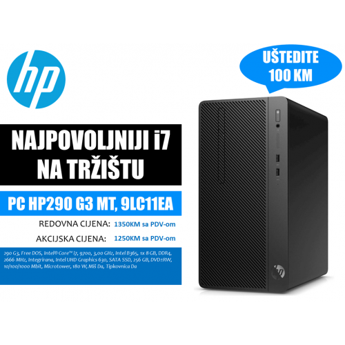 PC HP290 G3 MT, 9LC11EA